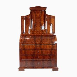 Large Biedermeier Mahogany Veneer Secretaire, 1820s