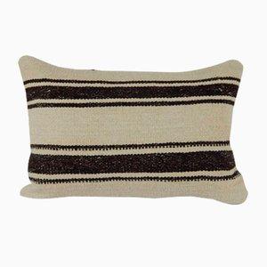 Traditional Turkish Decorative Hemp Kilim Cushion Cover