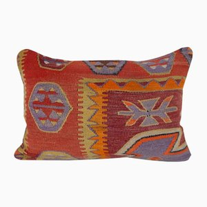 Turkish Anatolian Stripe Kilim Cushion Cover