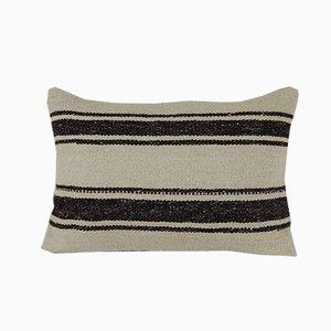 Turkish Handmade Hemp Kilim Modern Decor Cushion Cover
