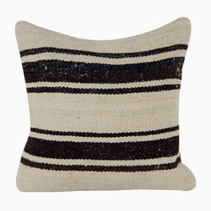 Striped Hemp Kilim Cushion Cover