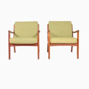 Dänische Mid-Century Sessel von Ole Wanscher für France & Søn / France & Daverkosen, 1960er, 2er Set