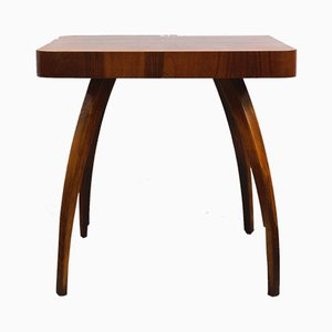 Small Mahogany Veneer Model H259 Coffee Table by Jindřich Halabala for Setona, 1950s