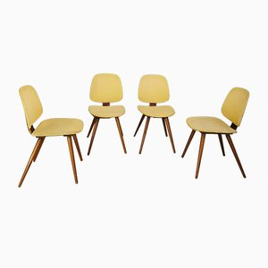 Dining Chairs by Michael Thonet, 1950s, Set of 4