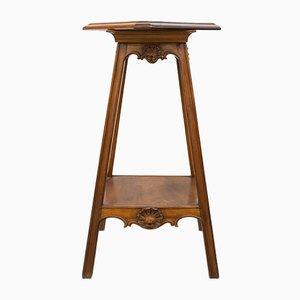Antique Elizabethan Rotating Pedestal
