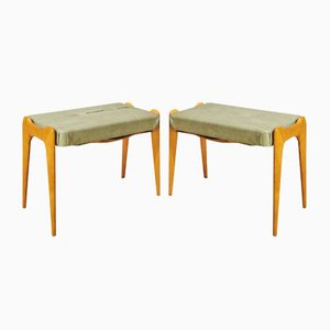 Hocker, 1950er, 2er Set