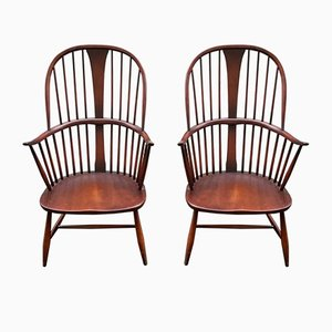 Model 911 Armchairs by Lucian Ercolani for Ercol, 1960s, Set of 2