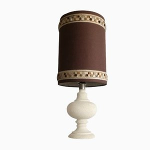 Vintage Stone Table Lamp, 1970s