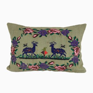 Deer Kilim Pillow Cushion Cover