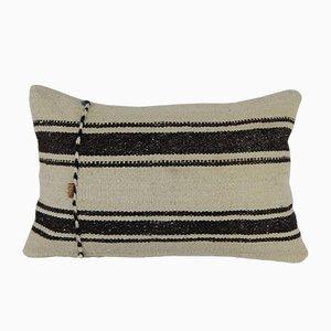 Funda de cojín lumbar de lana orgánica