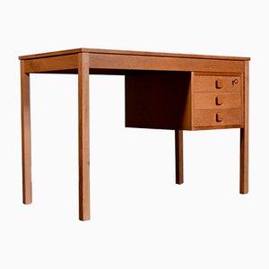 Danish Oak Desk from Domino Mobler, 1960s