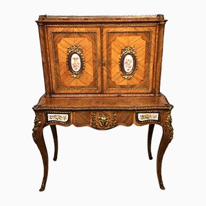 Victorian French Kingwood and Ormolu Secretaire