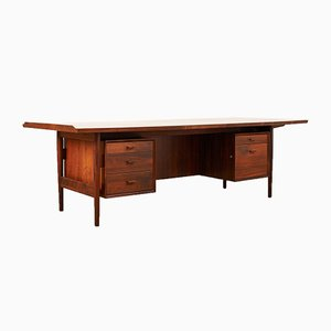 Rosewood Model 216 Desk by Arne Vodder for Sibast, 1950s
