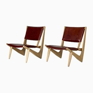 Lounge Chairs by Bertil W. Behrman for AB Engens Fabriker, 1960s, Set of 2