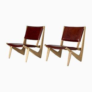 Stühle von Bertil W. Behrman für AB Engens Fabriker, 1960er, 2er Set