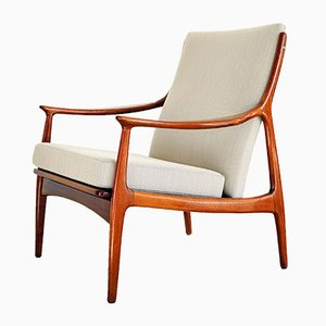 Danish Lounge Chair by Erik Kollig Andersen & Palle Pedersen for Mobelfabrik Horsens, 1960s
