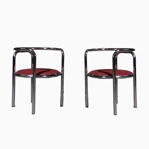 Chaises de Salle à Manger Locus Solus par Gae Aulenti pour Zanotta, 1960s, Set de 2