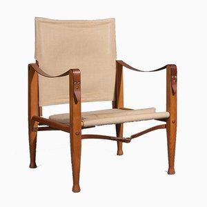 Safari Stuhl von Kaare Klint für Rud. Rasmussen, 1930er