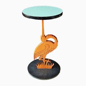 Table d'Appoint Sculpturale, Danemark, 1960s