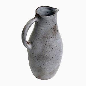 Glasierte Keramikkrug von Jeanne & Norbert Pierlot, 1960er