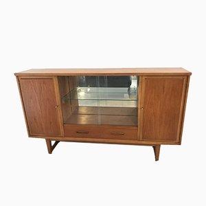 Mid-Century Teak Display Cabinet