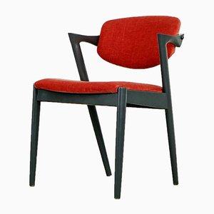 Esszimmerstühle von Kai Kristiansen für SVA Møbler, 1960er, 6er Set
