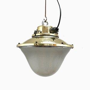 Lampe à Suspension de Holophane, 1950s
