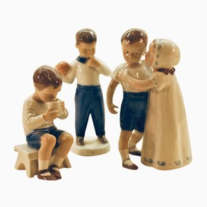 Figurines by Bing & Gröndahl, 1960s, Set of 3