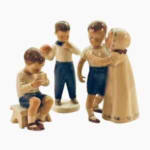 Statuette di Bing & Gröndahl, anni '60, set di 3