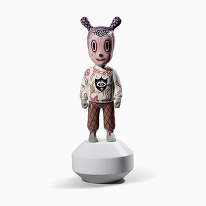 Small The Guest Figurine by Gary Baseman