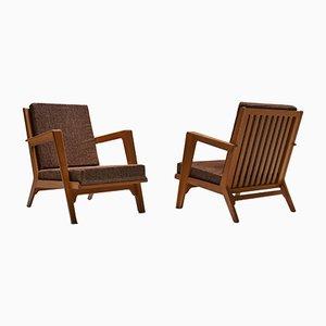 Moderne Sessel von Elmar Berkovich, 1950er, 2er Set
