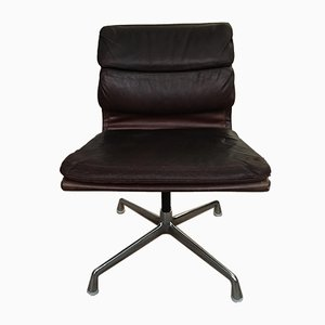 Leather Model 938-147 Desk Chair by Charles & Ray Eames for Herman Miller, 1970s
