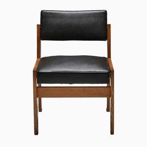 Stühle aus Eiche & Vinyl von Wim den Boon, 1950er, 2er Set