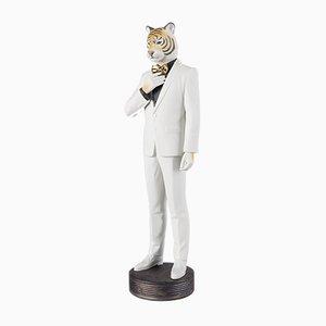 Sculpture Tiger Man par Marco Antonio Noguer