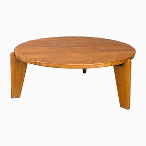 Table Basse Modèle Africa Mid-Century par Jean Prouvè, 1950s