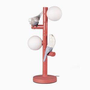 Papagei Tischlampe von Lladró