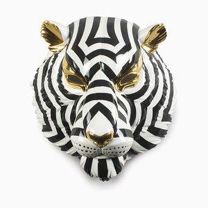 Masque Noir et Or Tigre de Jos