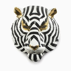 Tigermaske in Schwarz & Gold von José Luis Santes