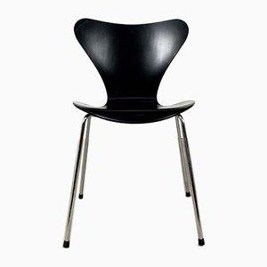 Modell 3107 Butterfly Esszimmerstühle von Arne Jacobsen für Fritz Hansen, 1970er, 2er Set