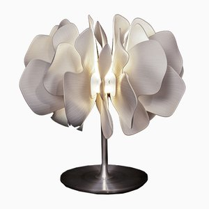 Lampe de Bureau Nightbloom Blanche par Marcel Wanders