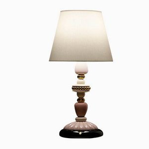 Pink & Golden Luster Firefly Table Lamp from Lladró