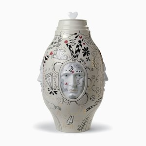 Medium Conversation Vase by Jaime Hayon