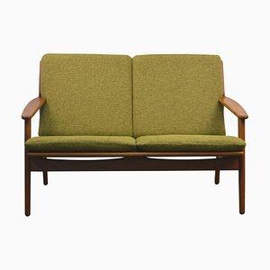 Dänisches 2-Sitzer Sofa aus Eiche von Poul Volther für FDB, 1960er