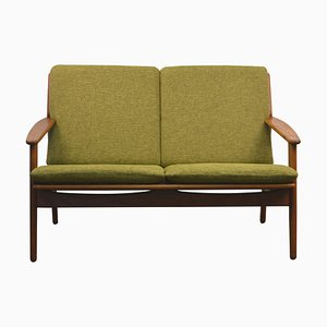 Danish Oak 2-Seat Sofa by Poul Volther for FDB, 1960s