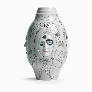 Conversation Vase II by Jaime Hayon