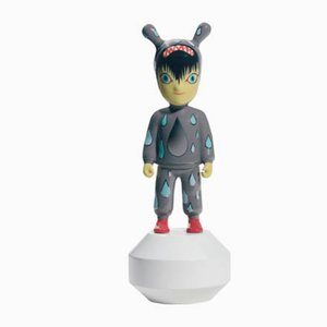 Small The Guest Figurine by Tim Biskup