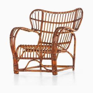 Dänischer Sessel von Viggo Boesen für E.V.A. Nissen & Co, 1930er