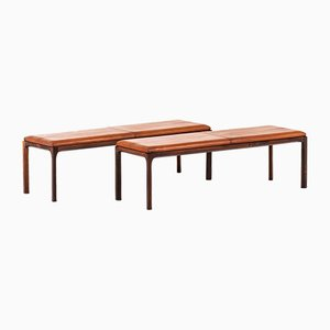 Danish Rosewood Bench by Kai Kristiansen for Aksel Kjersgaard, 1950s