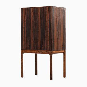 Danish Rosewood Cabinet from Haslev Møbelsnedkeri, 1950s
