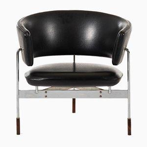 Norwegische Modell Cirkel Sessel mit Elementen aus Palisander von Sigurd Resell für Rastad & Relling, 1960er, 2er Set